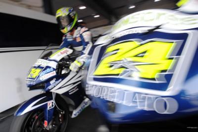 Il Team Gresini all'appuntamento con lo show di Jerez