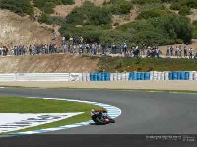 Vuelta al circuito de Jerez con Dani Pedrosa