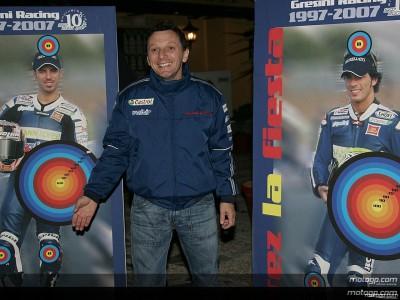 Gresini rememora su primera victoria en Jerez