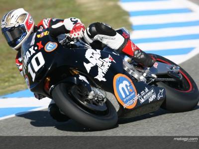 Kenny Roberts abre el juego en MotoGP