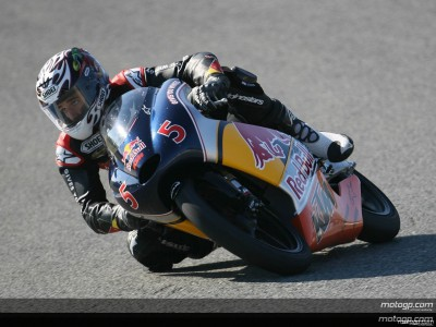 Red Bull MotoGP rookies undertake first practice sessions