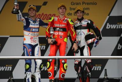 Lorenzo conquista Jerez y Bautista se estrena en el podio