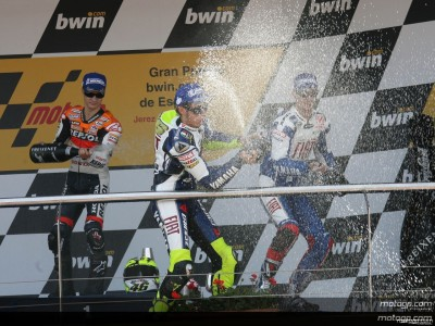 Rossi strikes back to take victory number 85