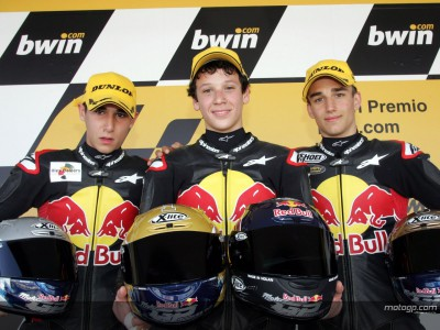 Young guns shine at first Red Bull MotoGP Rookies Cup race