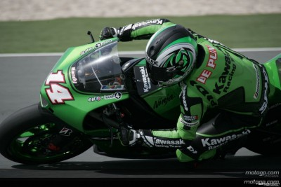 De Puniet grapille quelques points pour Kawasaki
