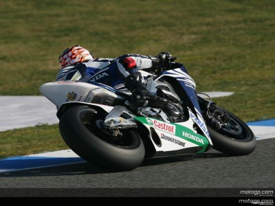 Gresini Honda duo round off Jerez test on top