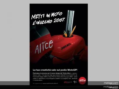 Alice mette in moto l'ingegno per i GP del Mugello e Le Mans