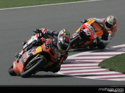 KTM hoping to bounce back after misfortune