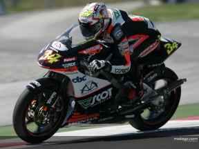 Dovizioso schnappt 250cc Pole Position