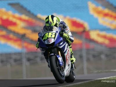 Rossi erneut auf Pole