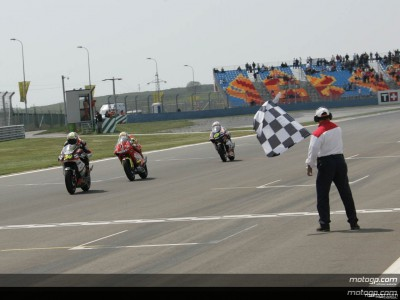 Podium finishers comment on superb 250cc battle