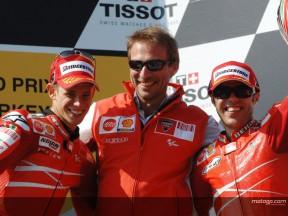 Combinação Ducati-Bridgestone faz maravilhas para Stoner e Capirossi