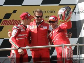 Ducati cumplió con los pronósticos en Turquía