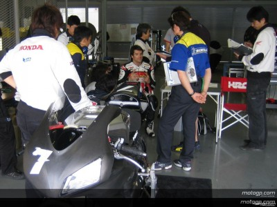 Checa in Japan for Suzuka 8 Hours testing