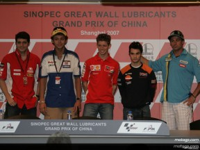 MotoGP press conference in China