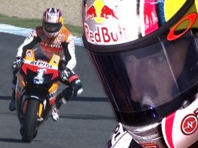 Nicky Hayden's riding style