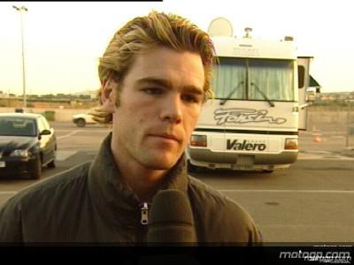 Fonsi Nieto sulla Kawasaki di Olivier Jacque