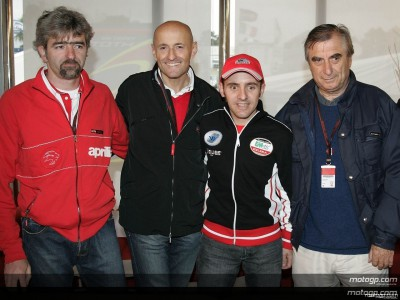 Locatelli vuelve al paddock del MotoGP