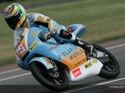 Pasini takes fourth 125cc pole of the year