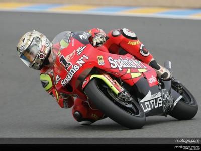 Lorenzo golpea con una nueva pole position