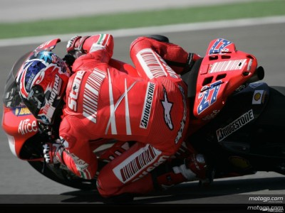 Stoner happy to continue strong qualifying sequence