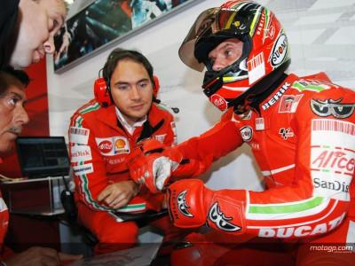 Ducati Marlboro va a por todas en la cita de casa