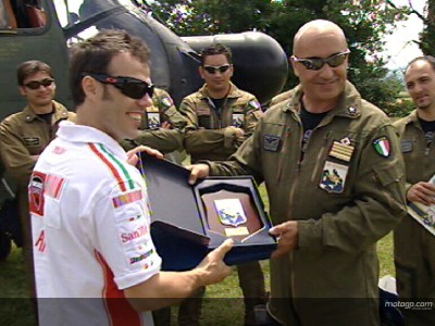 Capirossi prepares for battle