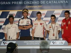 The MotoGP press conference at Catalunya