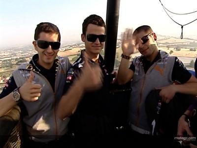 El Aspar Team sobrevuela Montmeló