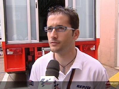 Convaleciente pero valiente: Rabat corre en casa