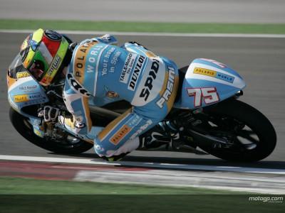 Pasini sets early pace at Catalunya