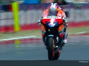 Pedrosa still quickest on day one in Barcelona despite crash