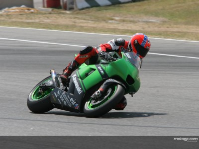 West happy with Kawasaki test outing