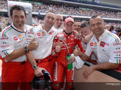 Ducati podría haber renovado a Stoner hasta final de 2008