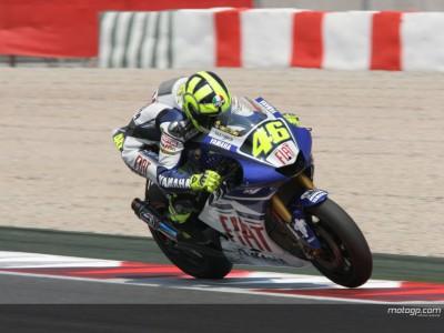 Rossi sigue al frente del Premio BMW M