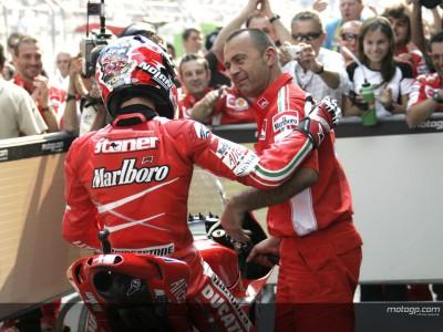 Stoner et Capirossi au World Ducati Weekend