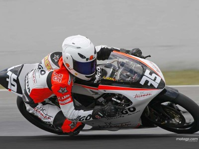 Jerez to Donington for Scot in 125cc