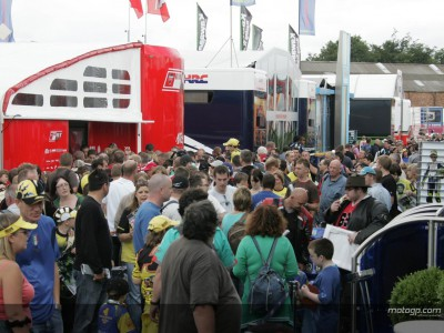 Fans genießen Day of Champions in Donington
