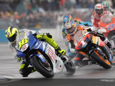 Rossi reflects on Donington performance