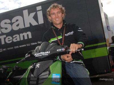 Solider Tag für Kawasaki in Donington