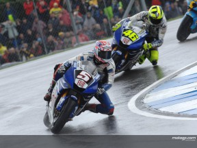Edwards reviews Donington race