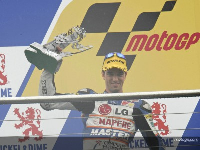 A.デアンジェリス、シーズン初勝利にあと一歩