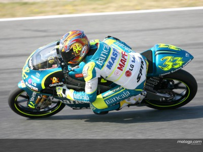 Gadea sets pace at Assen in first 125cc session