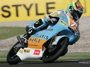 QP1: Pasini consigue en Assen la pole provisional en 125cc