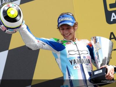 Rossi admits he felt the pressure