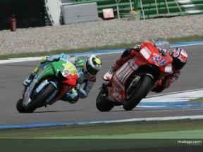 Stoner e Rossi inseparáveis nas últimas quatro corridas