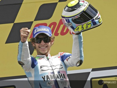 Victory from fourth row another 'Rossi rarity'