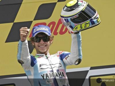Sieg aus der vierten Reihe, eine weitere 'Rossi Rarität'