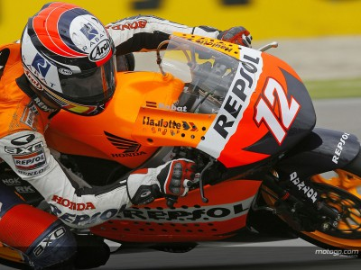 Repsol Honda 250cc and 125cc teams test at Brno