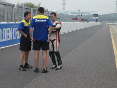 Checa enjoys Suzuka tests despite gruelling schedule